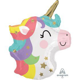 "Baby Unicorn 21"" Foil Balloon"