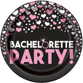 "Bachelorette Party 9"" Plates (8 Pack)"