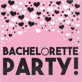 Bachelorette Party Lunch Napkins (16 Pack)