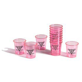 Bachelorette Plastic Shot Glasses (12 Pack)