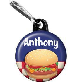 Backyard Bbq Personalized Mini Zipper Pull (each)