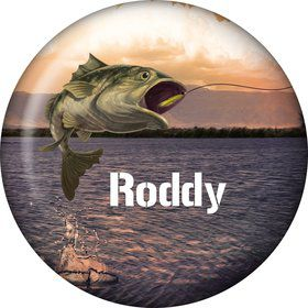 Bait 'n Hook Personalized Button (each)