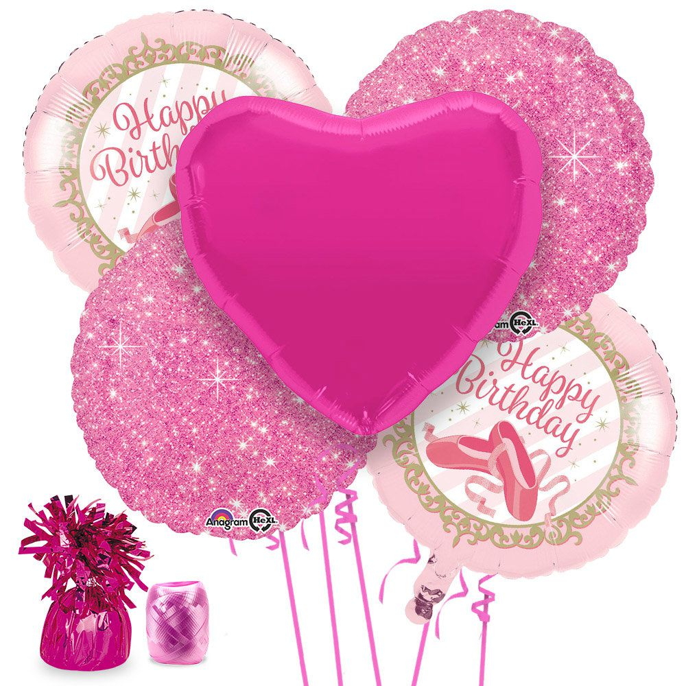 Ballerina Party Balloon Kit -Balloon Kits Party Supplies