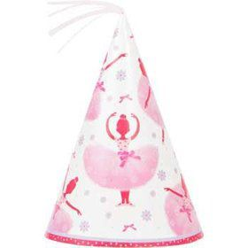 Ballerina Party Hats (8-pack)