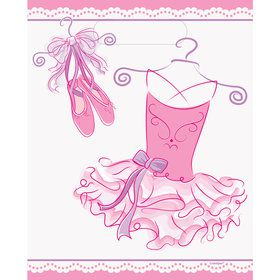 Ballerina Party Loot Bags (8-pack)