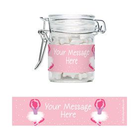 Ballerina Personalized Glass Apothecary Jars (10 Count)