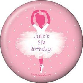 Ballerina Personalized Magnet (each)