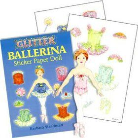 Ballerina Sticker Book (each)