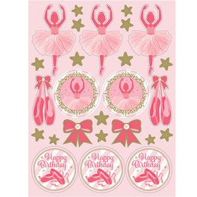 Ballerina Stickers (4-pack)