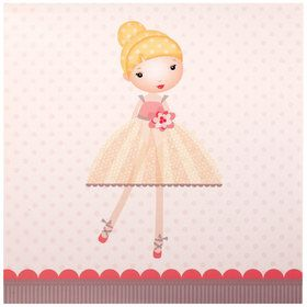 Ballerina Tutu Lunch Napkins