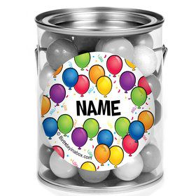 Balloon Fun Personalized Mini Paint Cans (12 Count)