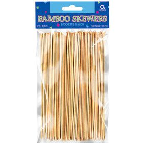 "Bamboo 8"" Skewers (100 Count)"