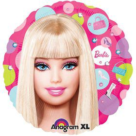 "Barbie 18"" Balloon (Each)"