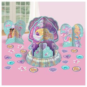 Barbie Mermaid Table Decorating Kit