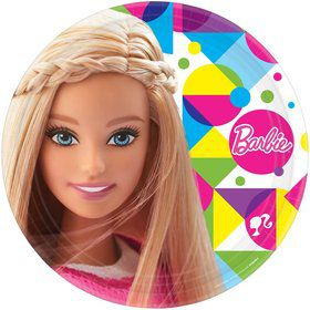 "Barbie Sparkle 9"" Luncheon Plates (8 Pack)"