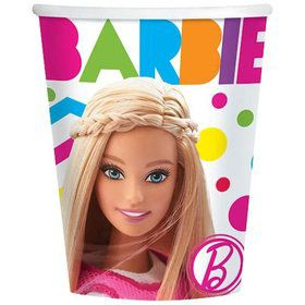 Barbie Sparkle 9oz Cups (8 Pack)