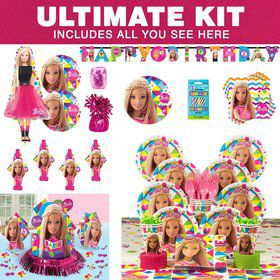 Barbie Sparkle Birthday Party Ultimate Tableware Kit