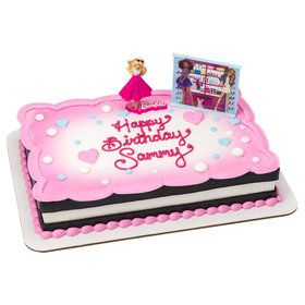 Barbie Sparkle Cake Decoration Set