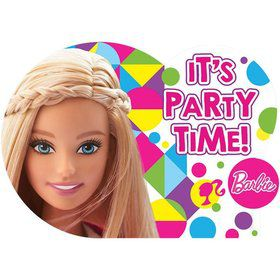 Barbie Sparkle Invitations (8 Pack)