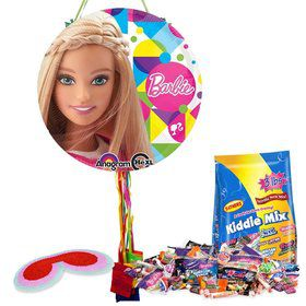 Barbie Sparkle Pull String Pinata Kit