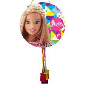 Barbie Sparkle Pull String Pinata