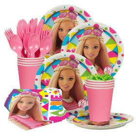 Barbie Sparkle Standard Birthday Party Tableware Kit