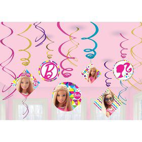 Barbie Sparkle Swirl Decorating Kit (12 Ct)