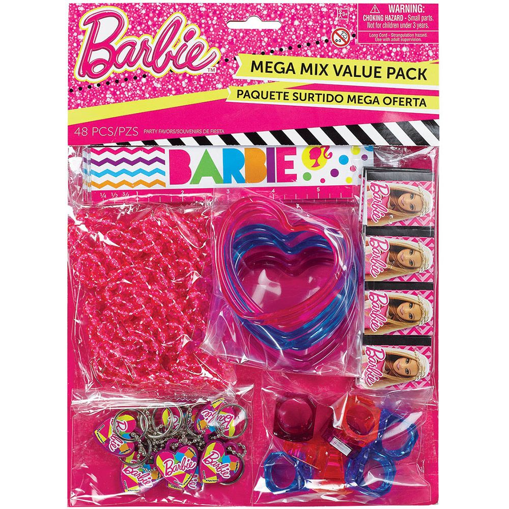 Barbie Sparkle Value Favor Pack (48 Pieces) - Party Supplies BB395968
