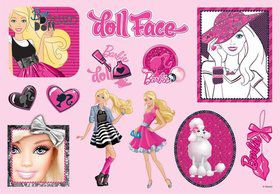 Barbie Sticker Favors (2 Sheets)