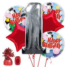 Barnyard 1st Birthday Balloon Kit