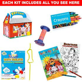 Barnyard 1st Birthday Favor Kit (for 1 Guest)