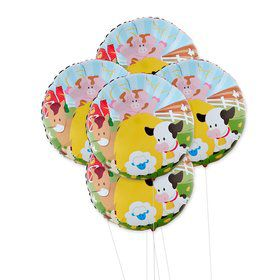 Barnyard 5pc Foil Balloon Kit