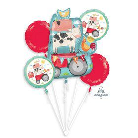 Barnyard Birthday Balloon Bouquet