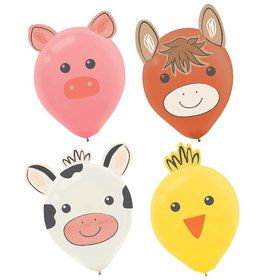 Barnyard Birthday Balloon Decorating Kit