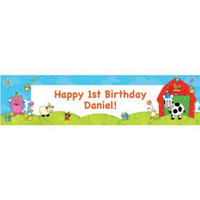 Barnyard Personalized Banner (each)