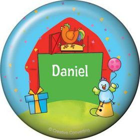 Barnyard Personalized Button (each)