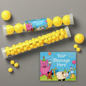 Barnyard Personalized Candy Tubes (12 Count)