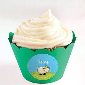 Barnyard Personalized Cupcake Wrappers (Set of 24)