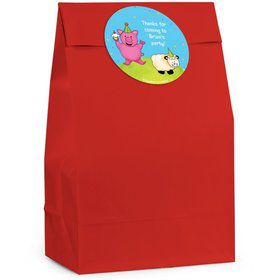 Barnyard Personalized Favor Bag (Set Of 12)