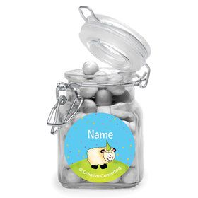 Barnyard Personalized Glass Apothecary Jars (10 Count)
