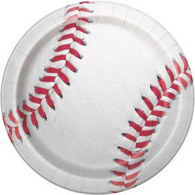 "Baseball 9"" Lunch Plate (8)"