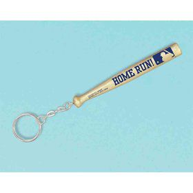Baseball Bat Keychain (6 Count)