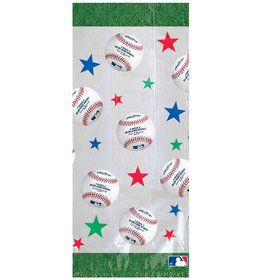 Baseball Cello Party Bags (20 Pack)