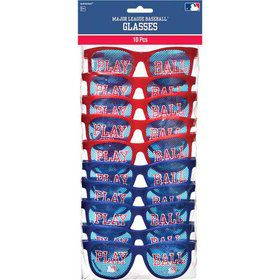 Baseball Glasses Favors (10 Count)