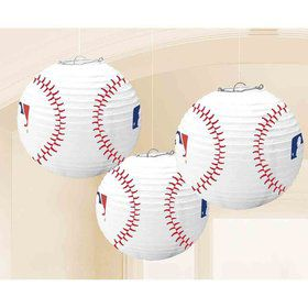 Baseball Lanterns (3 Count)