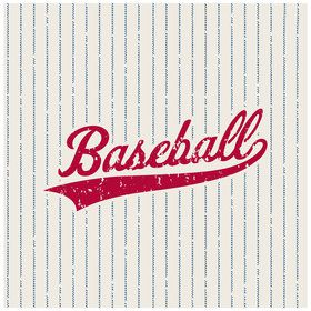Baseball Luncheon Napkins (16 Count)