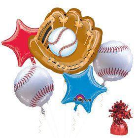 Baseball Party Balloon Kit