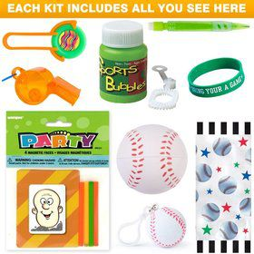 Baseball Party Favor Kit