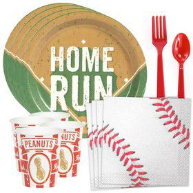 Baseball Standard Tableware Kit (Serves 8)