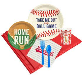 Baseball Time 16 Guest Party Pack